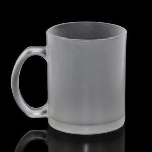 11oz Frosted Glass Mug